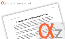 P-8 Corporate Social Responsibility Policy
