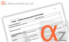 COSHH Assessment Anti Freeze