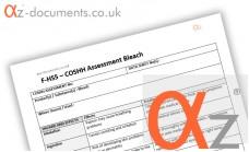 COSHH Assessment Bleach