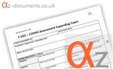 COSHH Assessment Expanding Foam