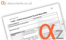 COSHH Assessment Fly Wasp Killer