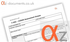 COSHH Assessment Grease