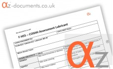 COSHH Assessment Lubricant