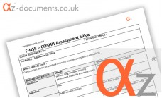 COSHH Assessment Silica
