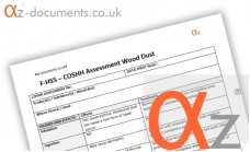 COSHH Assessment Wood Dust