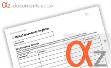F-IMS20 Document Register