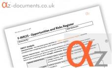 F-IMS23 Opportunities Risks Register