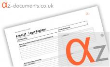 F-IMS27 Legal Register