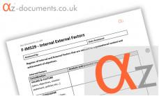 F-IMS29 - Internal External Factors Register