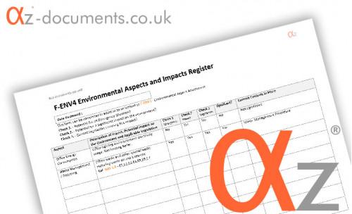 F-ENV4 Environmental Aspects Register