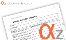 F-ENV5 Fire Safety Inspection Form
