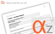 F-HS13 Accident Report Form