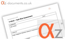 F-HS14 Task Risk Assessment Form