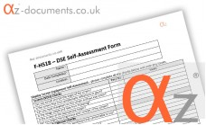 F-HS18 DSE Self Assessment Form