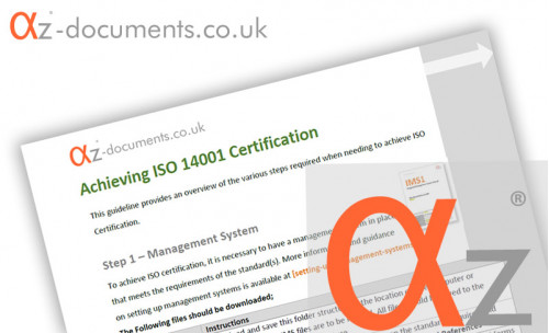 ISO 14001 Certification Guidance