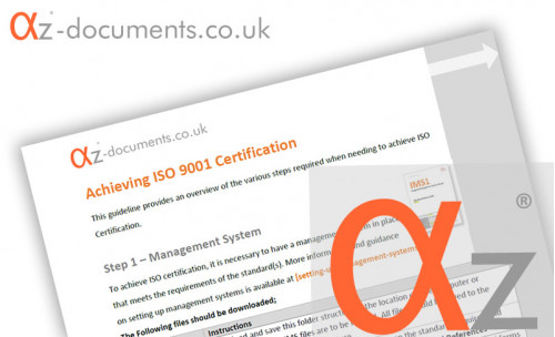 ISO 9001 Certification Guidance