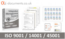 ISO 9001 /14001 / 45001 Toolkit