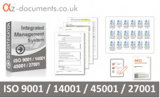 ISO 9001 /14001 / 45001 / 27001 Toolkit