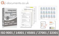 ISO 9001 /14001 / 45001 / 27001 / 22301 Toolkit