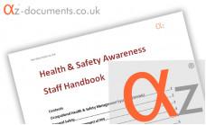 OHS1-1 Health and Safety Awareness Staff Handbook