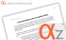 P-10 Anti Bribery and Corruption Policy