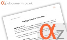 P-12 Right to Refuse Work Policy