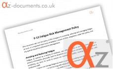 P-13 Fatigue Risk Management Policy
