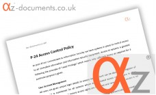 P-24 Access Control Policy