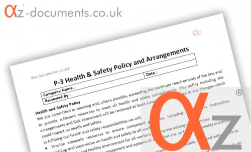 P-3 Health and Safety Policy