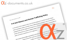 P-4 Anti-Slavery Human Trafficking Policy
