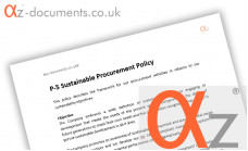 P-5 Sustainable Procurement Policy