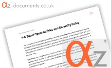 P-6 Equal Opportunities and Diversity Policy