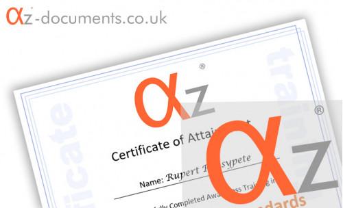 Internal Auditing Certificate Template