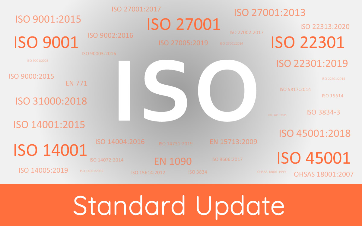 ISO 22301 Updated