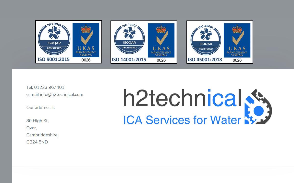 No Non-Conformances for h2technical!!!