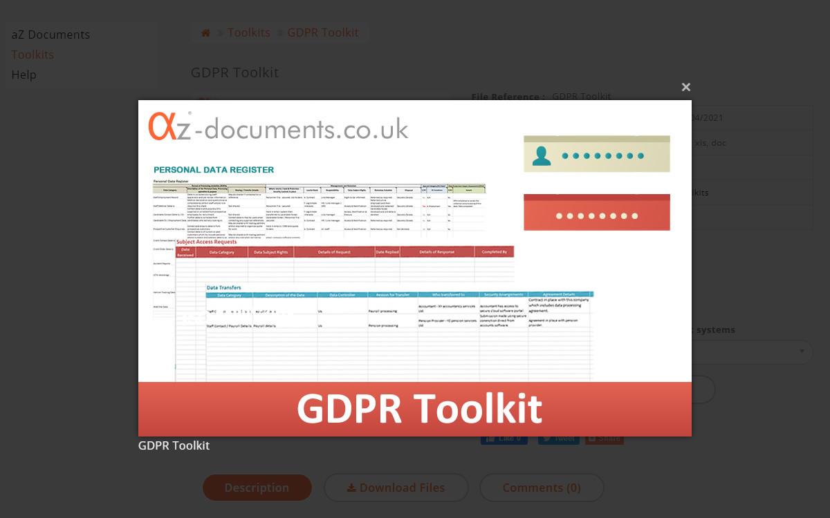 GDPR Toolkit